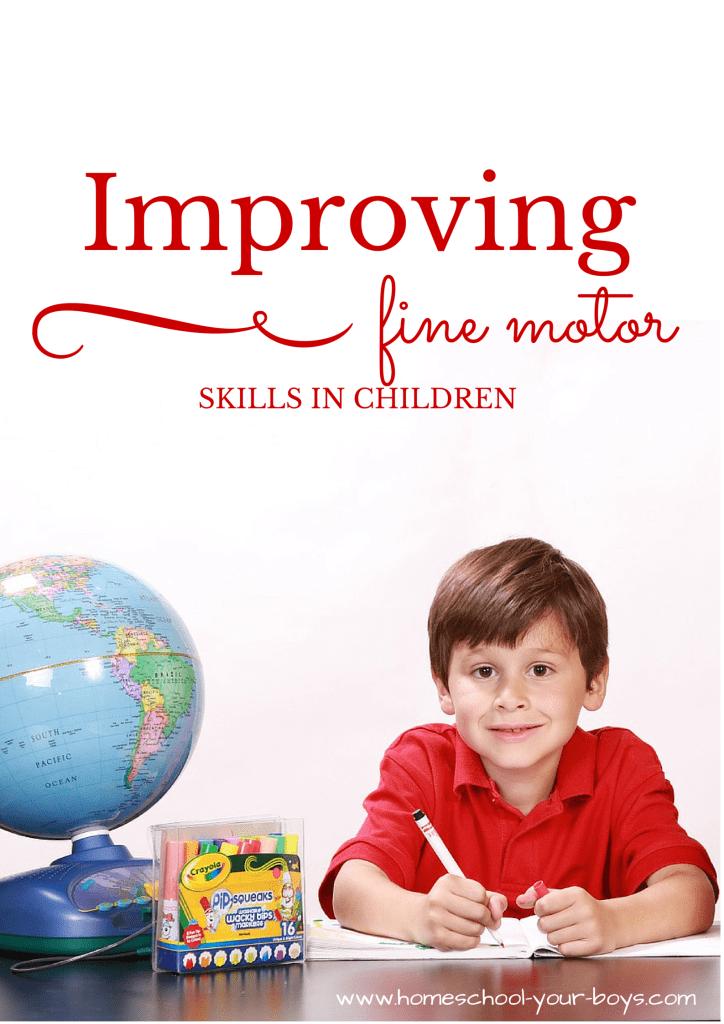 Improving Fine Motor Skills in Children
