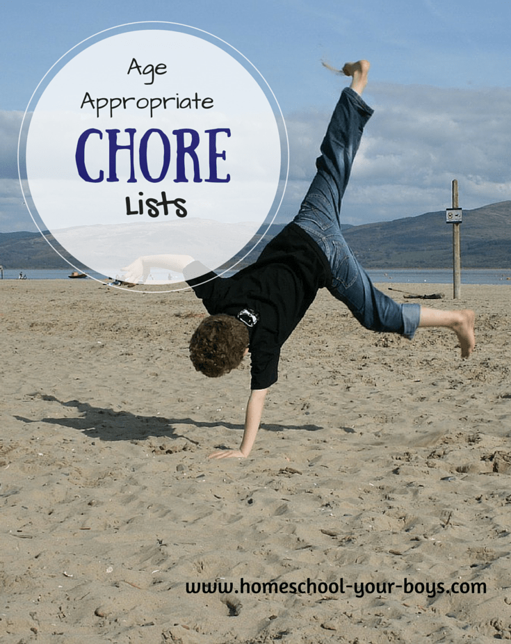 Age Appropriate Chore List for Children 9 years to 12 years - Do want your kids to do chores but aren't sure what tasks your child can handle? Check out this age appropriate chore list for children 9 years to 12 years