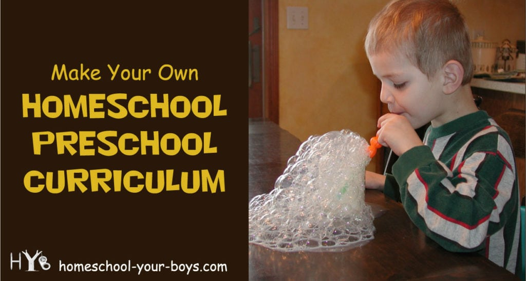 Interested in homeschooling your preschooler? Check out these tips for coming up with a homeschool preschool curriculum.