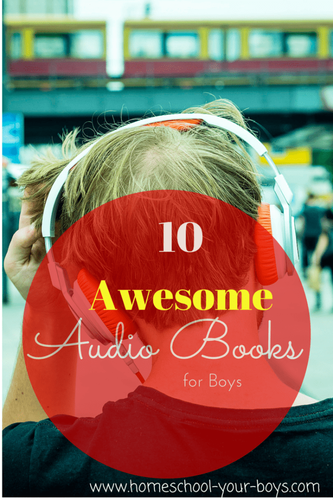 10 Awesome Audio Books for Boys