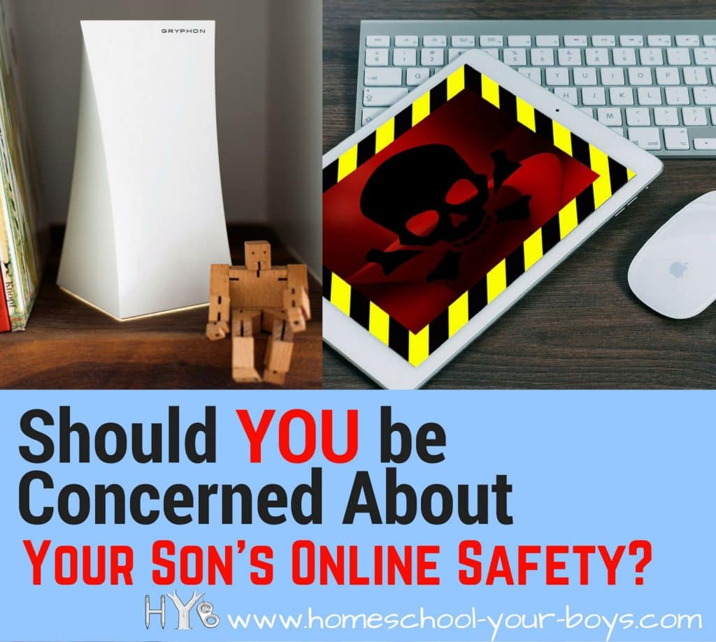 Should You Be Concerned About Your Son's Internet Safety?