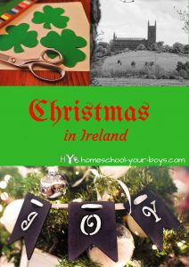 Want to teach your kids about Christmas in Ireland? In this post, you will learn about how the Irish celebrate Christmas. And click through to discover 14 ways that YOUR family can celebrate like the Irish! | christmas unit study | irish christmas | christmas in ireland |