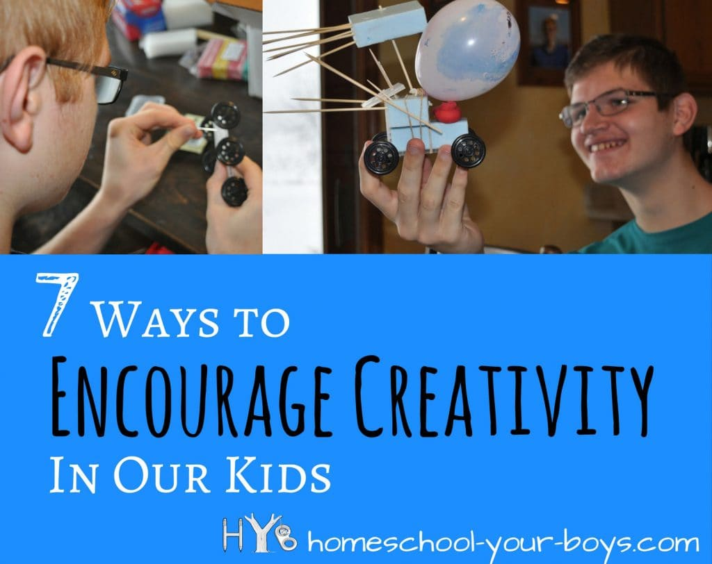 7 Ways to Encourage Creativity in our Kids
