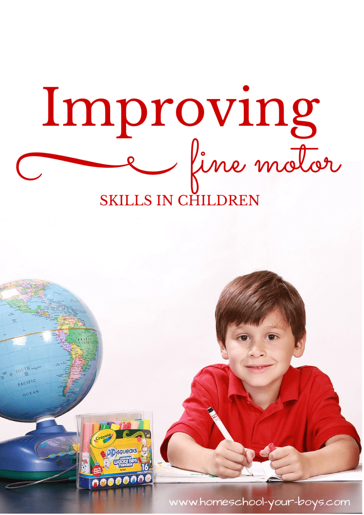 Improving Fine Motor Skills in Children
