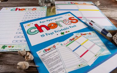 FREE Printable & Editable Age Appropriate Chores List