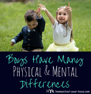 Boys Have Many Physical and Mental Differences