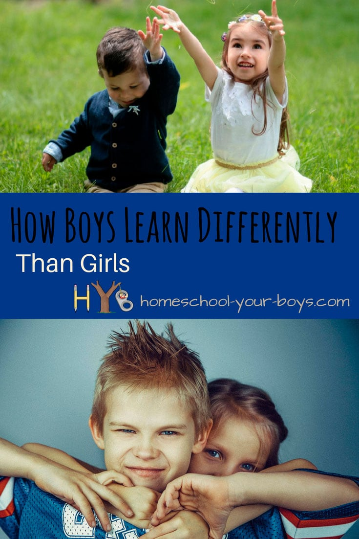 How Boys Learn Differently Than Girls