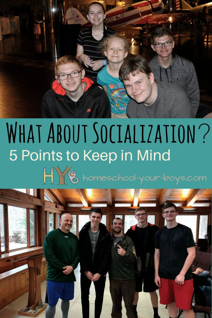 What About Socialization? 5 Points to Keep in Mind