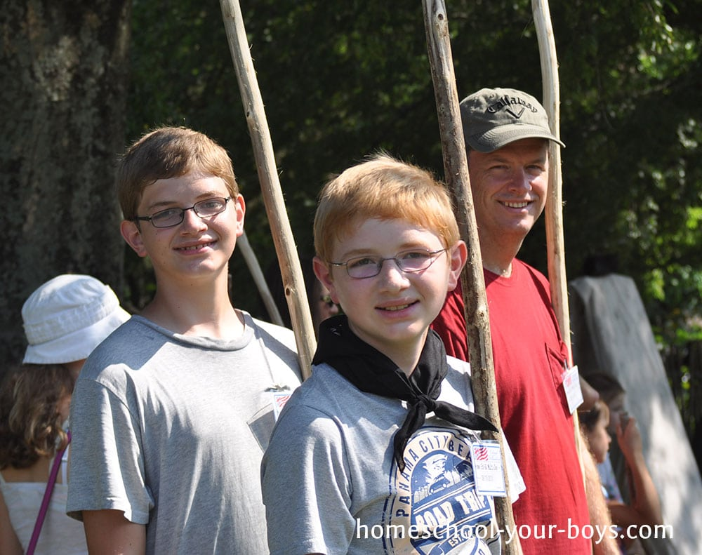 Homeschool Vacation Colonial Williamsburg