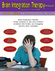 Brain Integration Therapy