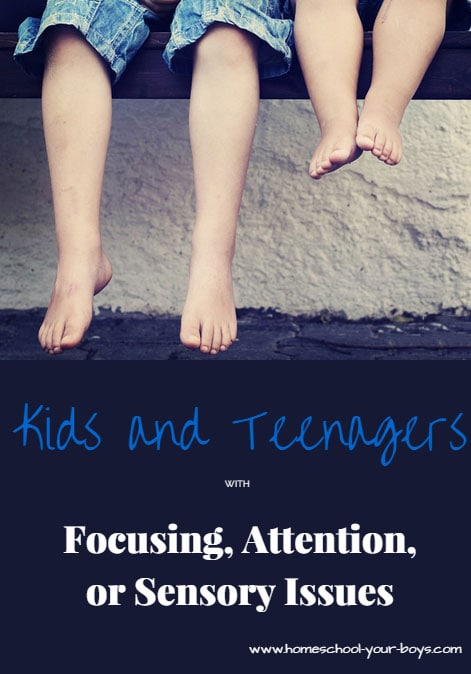 Kids and Teenagers with Focusing, Attention, or Sensory Issues - If your child has focusing, attention, or sensory issues they may have a leaky gut. Find out how to help your child focus better without harmful medication.