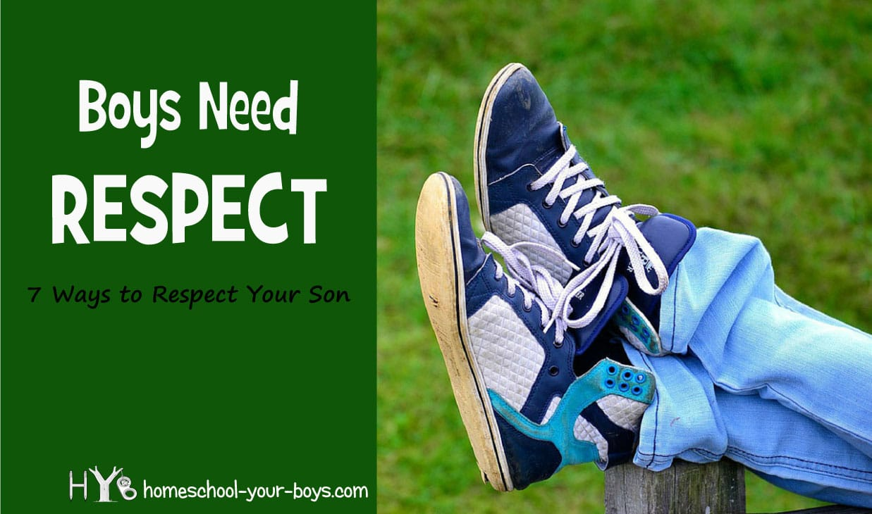 Did you know that our sons NEED our respect? Click through to find out why this is important and HOW to do it! | respect | respect son | show respect |