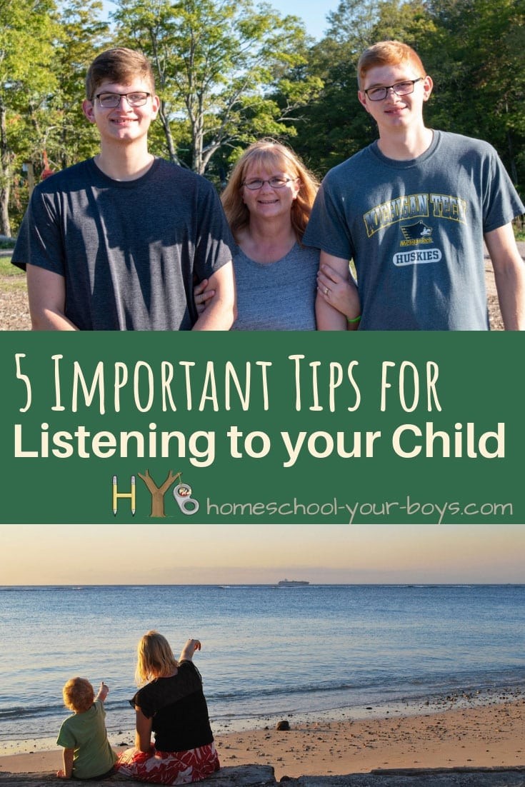 5 Important Tips for Listening to Your Child