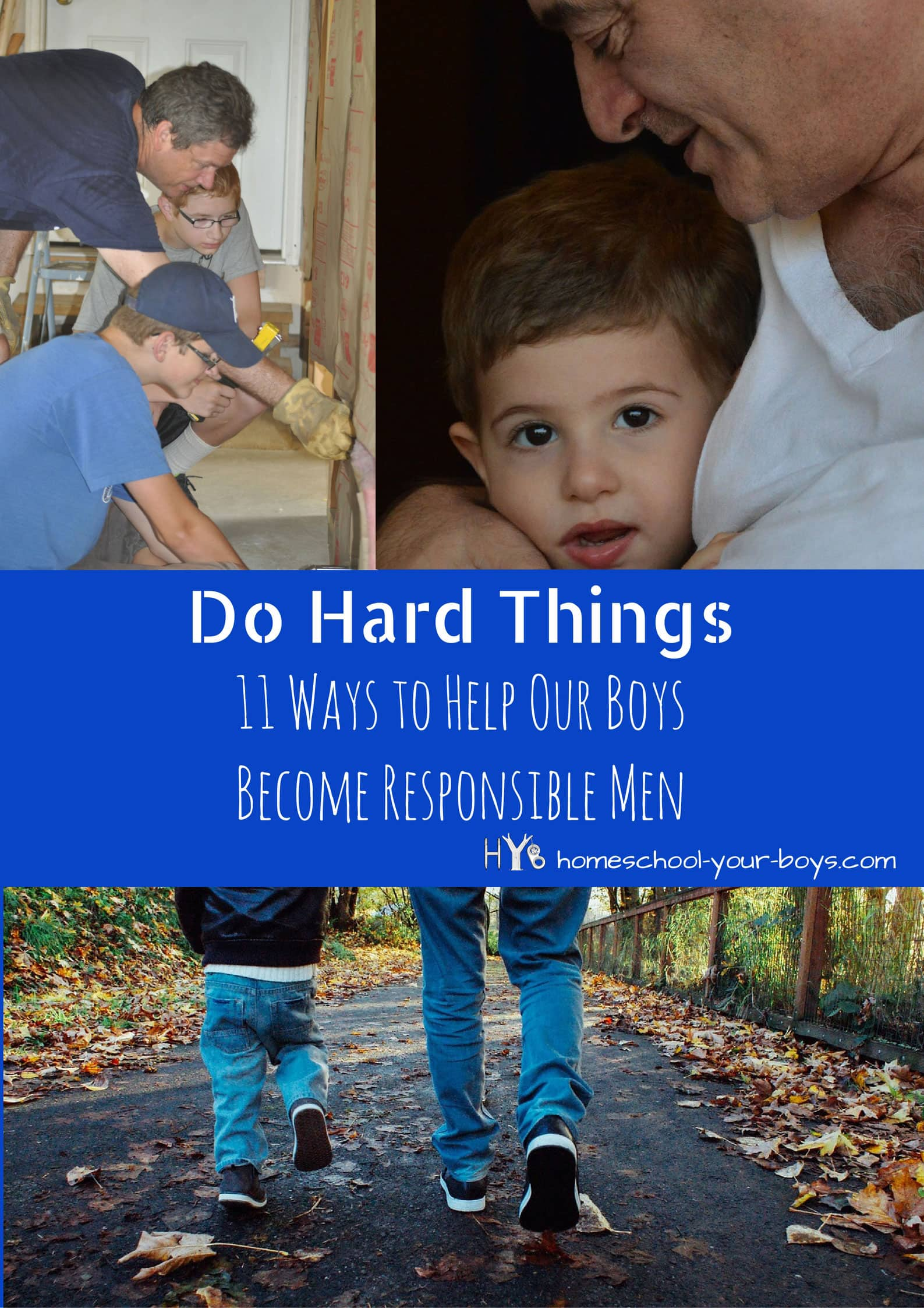 how to become a responsible man