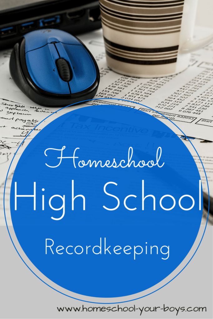 Homeschool High School Record Keeping