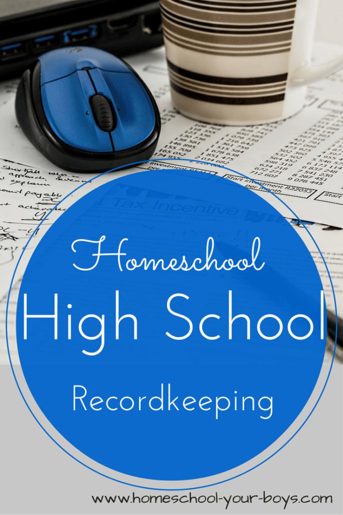 Homeschool High School Record Keeping