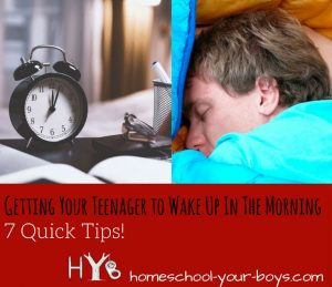 Having a hard time getting your teen/tween out of bed? It's completely natural. But there are some simple tips which may help!