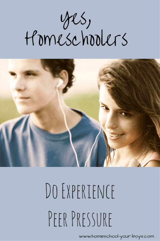 Yes, Homeschoolers Do Experience Peer Pressure