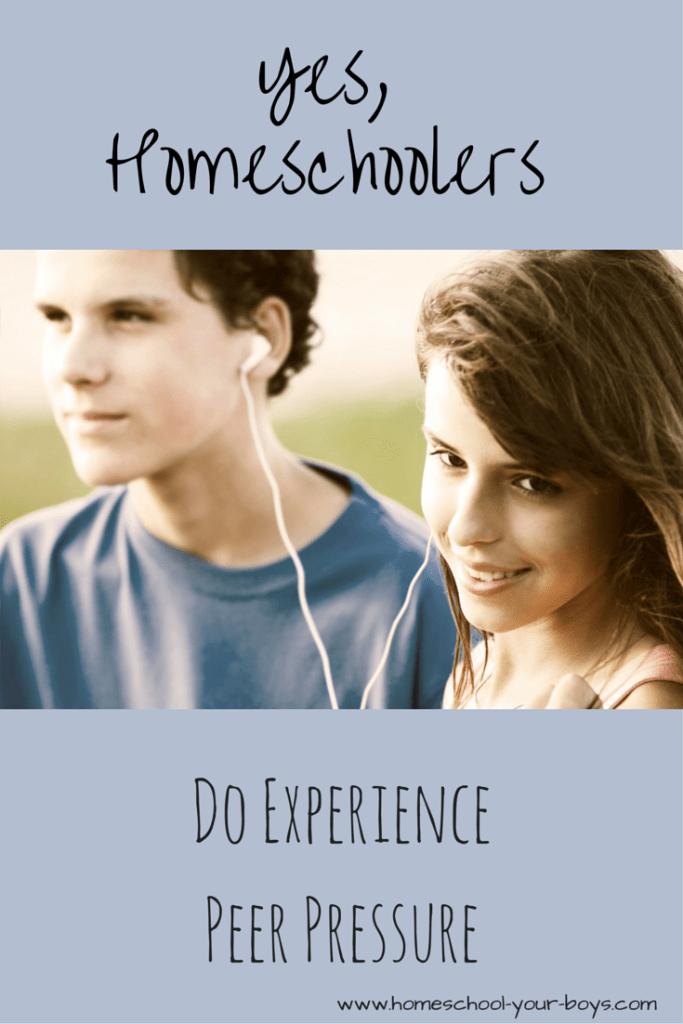 Yes, Homeschoolers Do Experience Peer Pressure