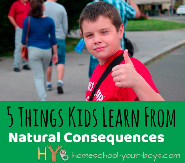5 Things Kids Learn from Natural Consequences