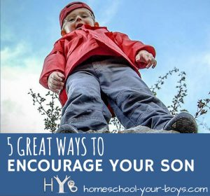 Want to encourage your son? Is isn't that difficult! Click through to discover 5 practical ways to encourage your older son.   encourage son   encourage child   encouragement  