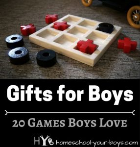 Gifts for Boys: 20 Games Boys Love