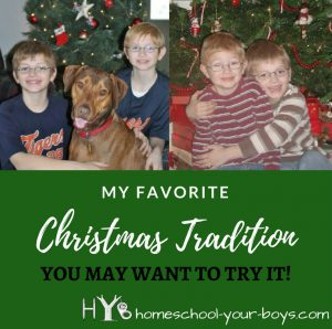 My Favorite Christmas Tradition - You May Want to Give it a Try!