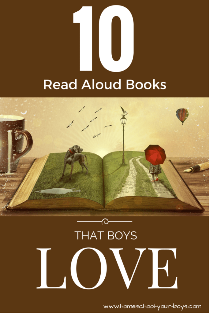 10 Read Aloud Books that Boys Love