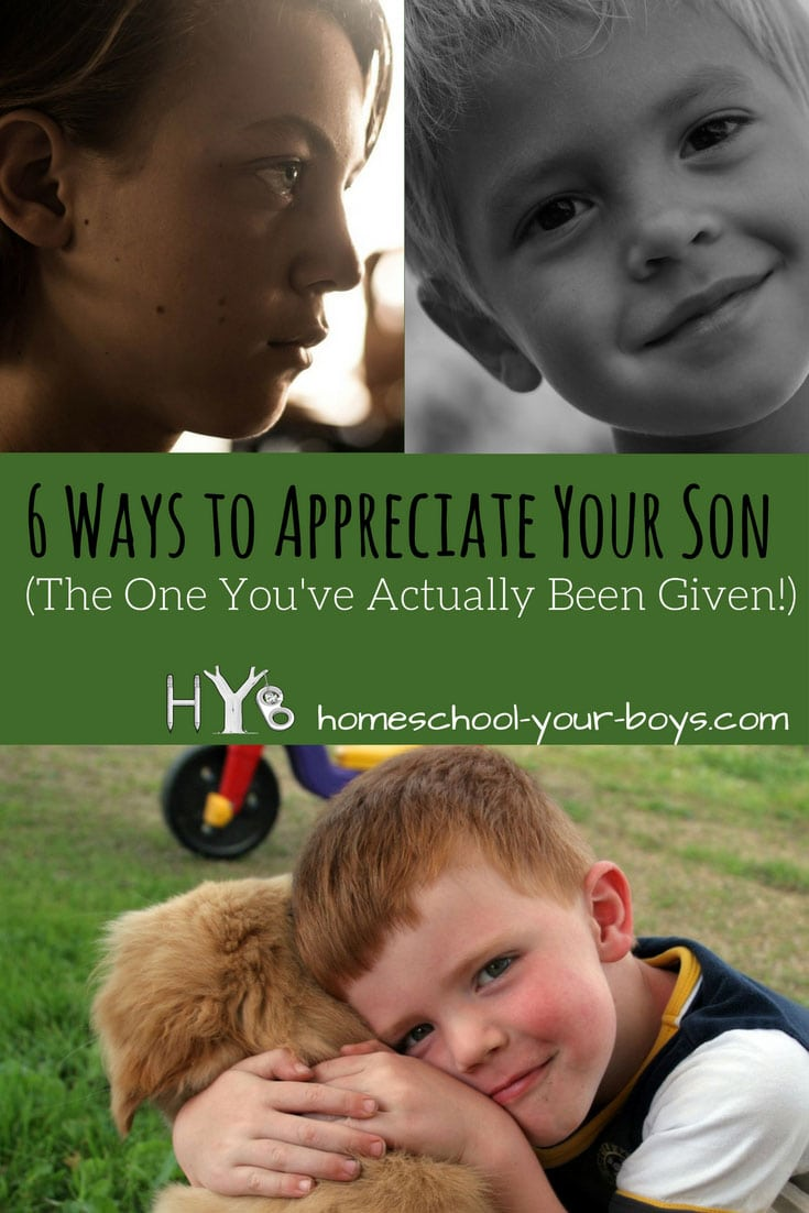 Looking for ways to appreciate your son? This isn't always easy! Click through to discover 6 practical ways to show appreciation to your son! | appreciate your son | show appreciation | accept your son |