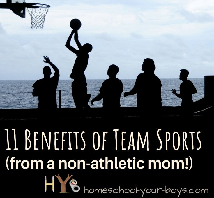 11 Benefits of Team Sports (from a non-athletic mom!)