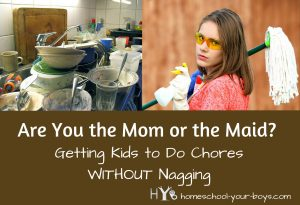 Are You the Mom or the Maid?