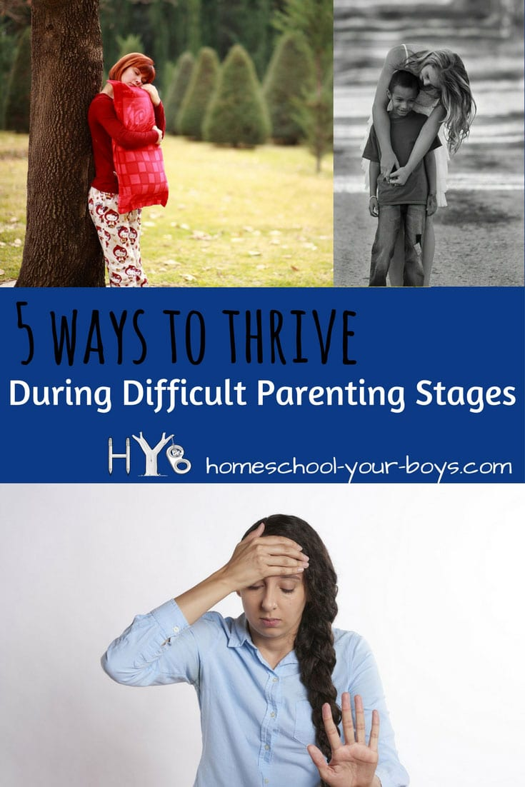 Are you going through one of those difficult parenting stages? Got toddlers? Tweens? Fortunately, there are positive things you can do to not only survive but thrive!   parenting toddlers   parenting tweens   parenting teens   difficult parenting  