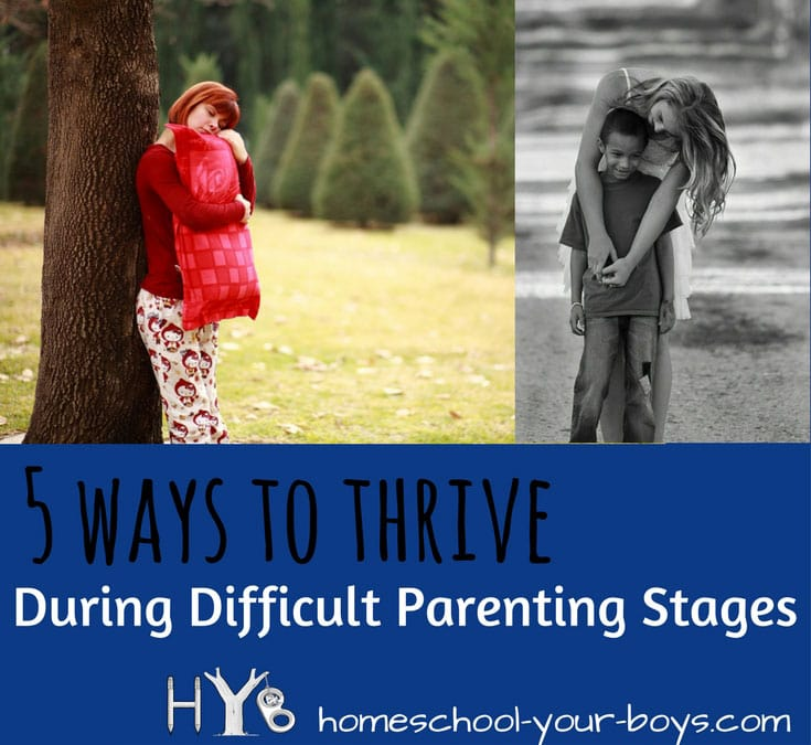 Are you going through one of those difficult parenting stages? Got toddlers? Tweens? Fortunately, there are positive things you can do to not only survive but thrive! | parenting toddlers | parenting tweens | parenting teens | difficult parenting |
