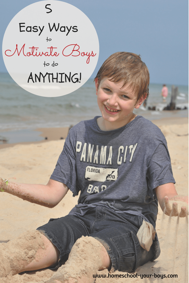 5 Easy Ways to Motivate Boys to do Anything!