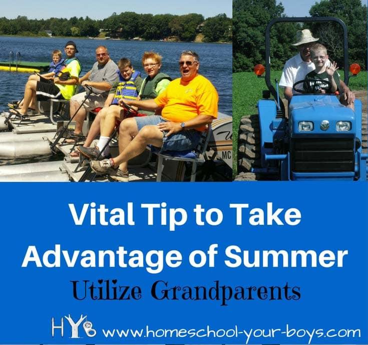 Vital Tip to Take Advantage of Summer: Utilize Grandparents