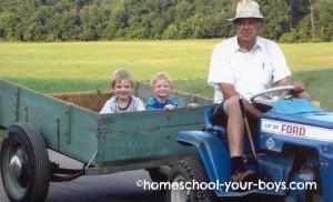 Take Advantage of Summer - Utilize Grandparents
