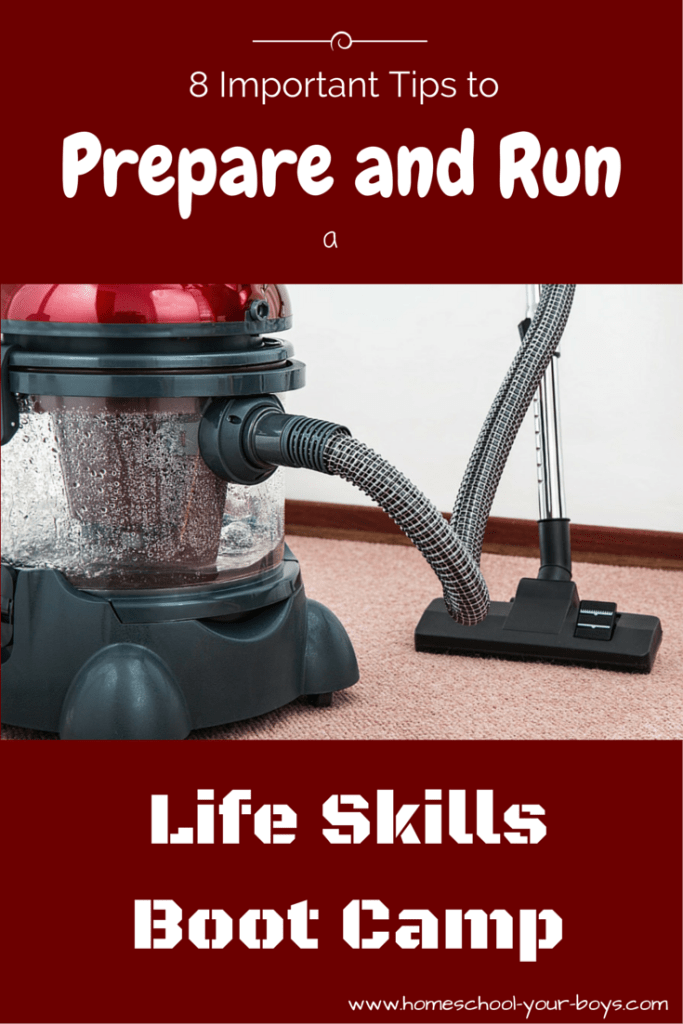 8 Important Tips to Prepare and Run a Life Skills Boot Camp