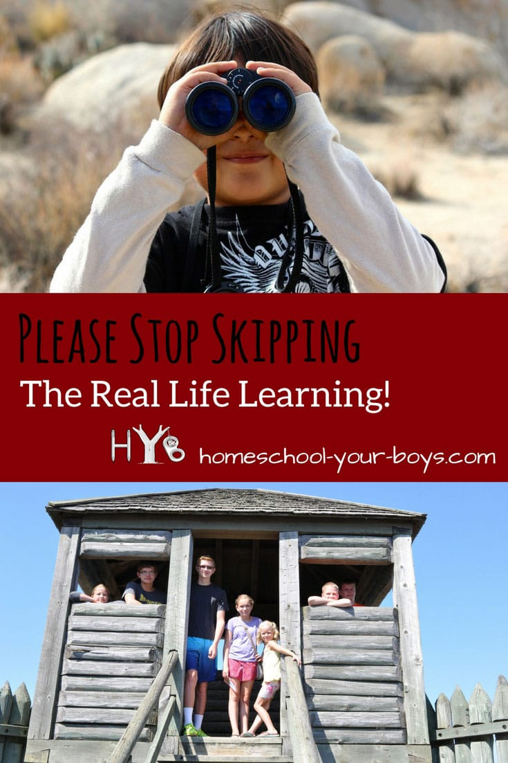 Real Life Learning that We Should Stop Skipping!