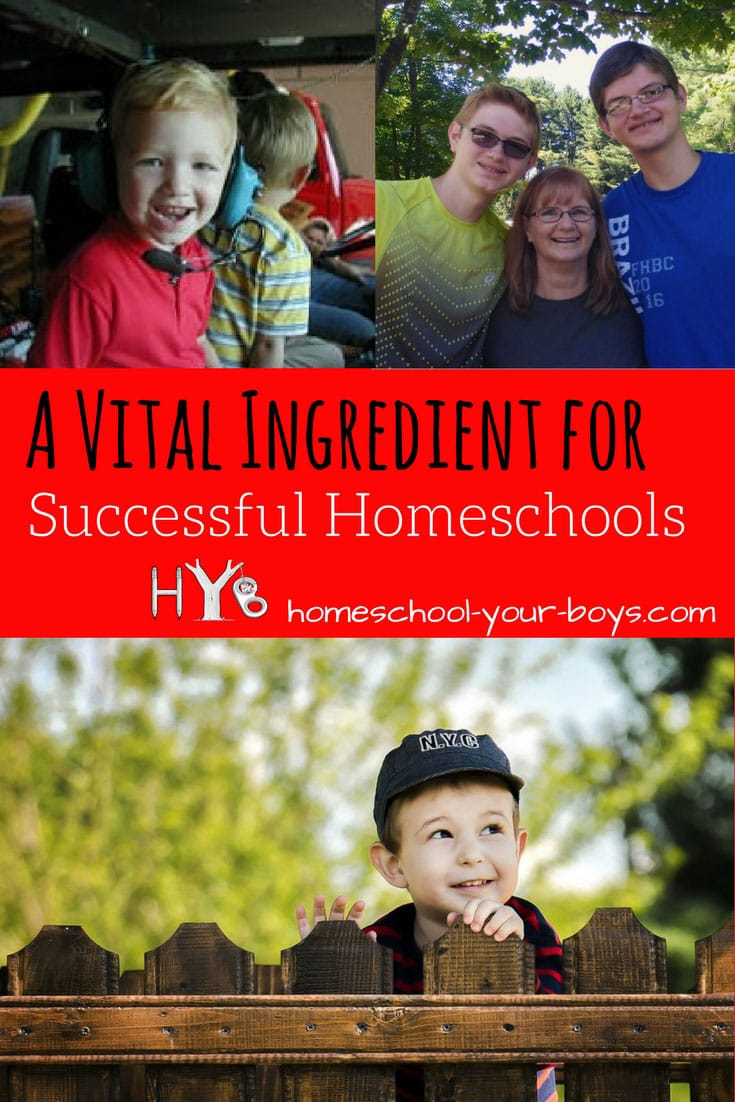 Successful homeschools all have several things in common. Click through to discover one of these key ingredients!