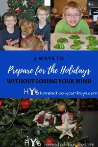Holidays got you down? It is possible to get everything done without feeling overwhelmed! Click through to learn 5 practical tips for getting it all done without going crazy. | christmas | christmas preparations | christmas responsibilities | christmas overwhelm |