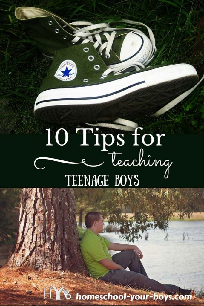 10 Tips for Teaching Teenage Boys
