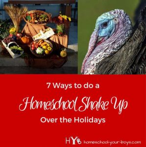 7 Ways to do a Homeschool Shakeup Over the Holidays