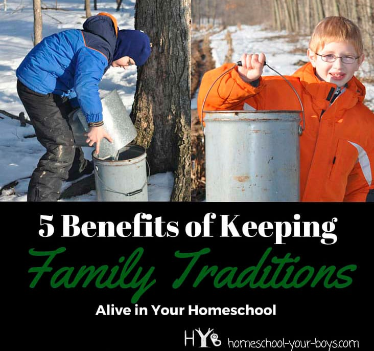5 Benefits of Keeping Family Traditions Alive in Your Homeschool