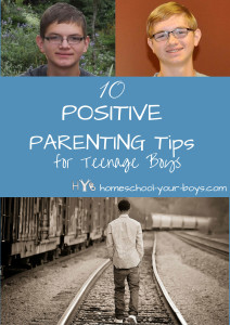10 Positive Parenting Tips for Teenage Boys