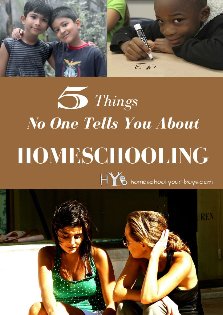 5 Things No One Tells You About Homeschooling