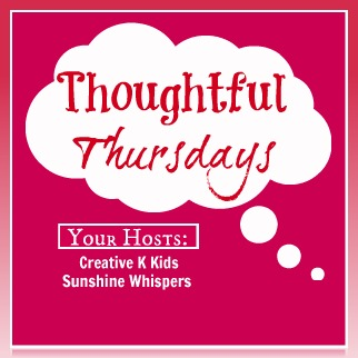 This post was featured on Thoughtful Thursdays!