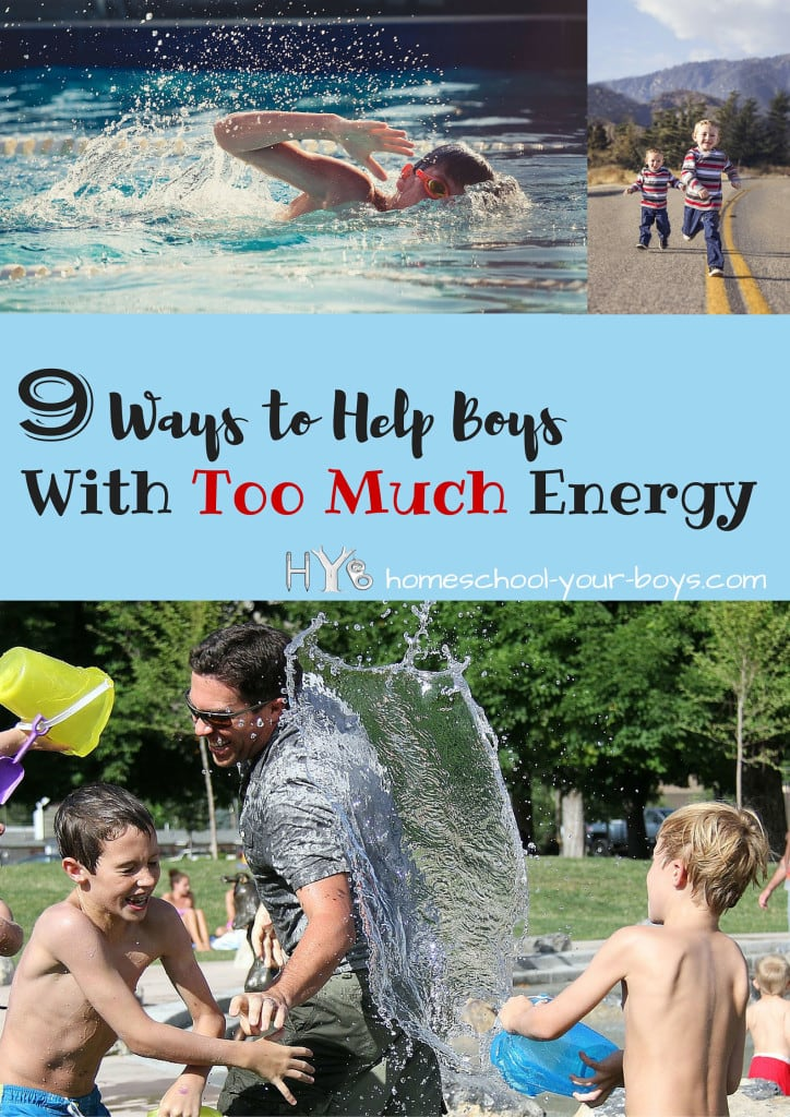 9 Ways to Help Boys with Too Much Energy