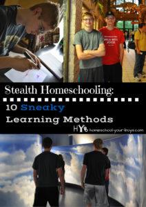 Stealth Homeschooling: 10 Sneaky Learning Methods
