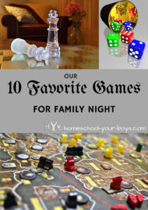 Our 10 Favorite Games for Family Night