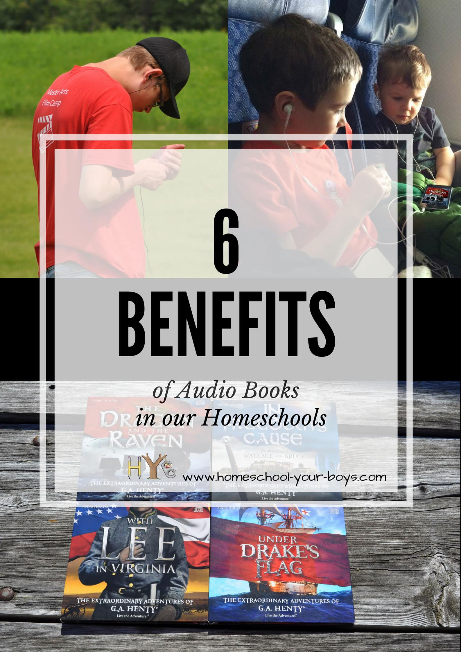 6 Benefits of Audio Books in our Homeschools